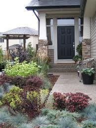 Fresh Front Entry Landscape Ideas