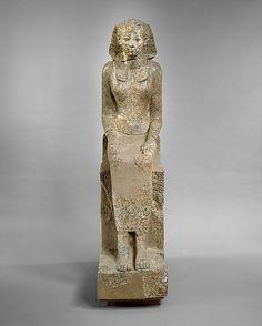 The Female Pharaoh Hatshepsut  Date: ca. 1473–1458 B.C.  Deir el-Bahri, Senenmut Quarry, MMA 1926-1929  Accession Number: 29.3.3