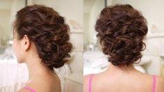 Curly/Up-do/Backcomb/Tease/Volume/Quiff/Pouf/Pompadour/Twist/Wrap-around/Cross over