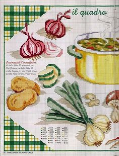 Enciclopedia Italiana Frutas e verduras 1