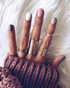 36 Colorful Nails Give You Different Feelings Page 15 of 36 Nageldesign Nail Art Nagellack Nail Polish Nailart Nails Hair And Nails, My Nails, Sally Nails, 5sos Nails, Teen Nails, Nails Kylie Jenner, Uñas Fashion, Fall Nail Art Designs, Nagellack Trends