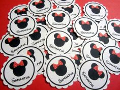 Personalized Minnie Mouse Birthday Party Confetti!