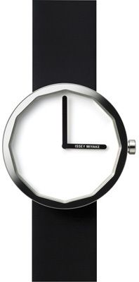 7ff7c3e5d000 Click Image Above To Purchase  Issey Miyake Mens Twelve Stainless Watch -  Black Leather Strap - White Dial -