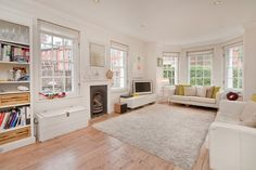 The interior of Oakley Lodge: sugar coated Grade II listed house in NW1!