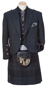 Grey Spirit Kilt Outfit