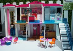 Barbies smart home is a party house  Barbies new connected Hello Dreamhouse may not have a Nest thermostat but we still saw many other smart-home features at Toy Fair this week  as many as an 11.5-inch plastic doll might need from a $299 plastic house anyway.  The six-room Dreamhouse isnt the first Barbie home with an elevator but it is certainly the first one with an app to control it. But if youre a parent who isnt ready to let your kid have their own mobile device dont worry: The app is…