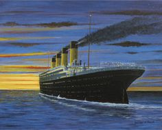 Final Sunset For Titanic Only Hours Away From Disaster