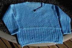 Ravelry: Strikket sweater med slids pattern by Lene Holme Samsøe