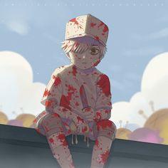 Hataraku Saibou (Cells At Work! Fanarts Anime, Manga Anime, Anime Art, Anime Chibi, Blood Anime, White Blood Cells, Anime Guys, Manga Games, Otaku