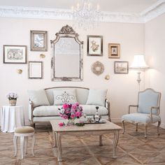 Get inspired by French Country Living Room Design photo by Lark Manor. Wayfair lets you find the designer products in the photo and get ideas from thousands of other French Country Living Room Design photos. French Decor, French Country Decorating, Living Room Designs, Living Room Decor, French Country Living Room, French Country Sofa, French Country Interiors, French Living Rooms, French Sofa