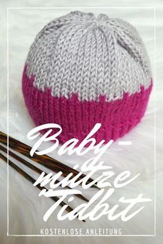 Babymütze Tidbit – Kostenlose Strickanleitung - Stricken Anleitungen Baby Knitting PatternsKnitting For KidsCrochet ProjectsCrochet Bag Baby Knitting Patterns, Knitting Blogs, Baby Patterns, Free Knitting, Crochet Pullover Pattern, Diy Accessoires, Baby Beanie Hats, Knitted Hats, Creations