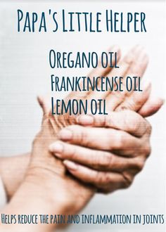 arthritis blend, essential oils