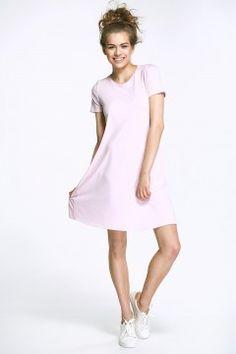 Sukienka z kokardą - wrzos - AL31