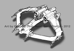 Fighter Concept Sketch by ~GTDees on deviantART