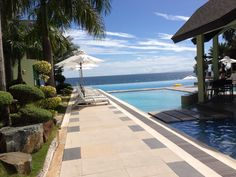 Acuatico Resort, San Juan Batangas, Philippines - Me likey. Holiday Destinations, Travel Destinations, Batangas Philippines, Places Ive Been, Places To Go, Where To Go, Holidays, Outdoor Decor, San Juan