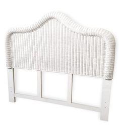 Wicker Queen Headboard - Elana Wicker Bedroom Furniture, Rattan Headboard, Full Headboard, Wicker Dresser, Wicker Shelf, Queen Headboard, Headboard And Footboard, Wicker Mirror, 3 Drawer Dresser