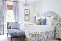 Decor Inspiration: Sarah Bartholomew's Nashville Home {At Home With: Interior Designer Sarah Bartholomew, Part (Cool Chic Style Fashion) Master Bedroom Design, Home Bedroom, Bedroom Decor, Bedroom Sets, Country Look, Nashville, How To Dress A Bed, House Of Turquoise, Ideas Hogar