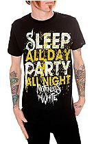 Motionless In White Sleep Party Slim-Fit T-Shirt (I NEED THIS SHIRT FOR WARPED TOUR!!!!!)