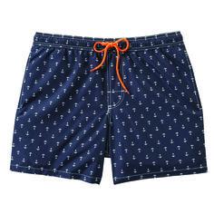 joe fresh, men's style, summer wardrobe, swim trunks, boardshorts