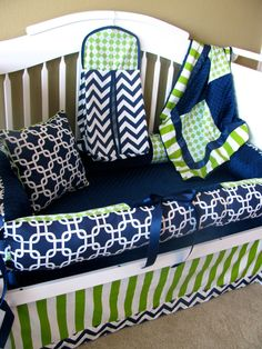 Thane Custom Baby Bedding Crib Set 3 PC set by BabiesNBaubles, $319.00