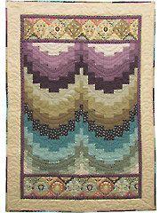 New Quilt Patterns - Left Bank Bargello Quilt Kit