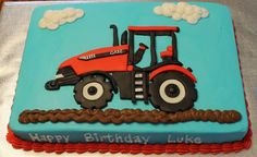 Case Tractor Cake