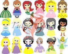 Princess C2C Crochet Graph Pack | Craftsy