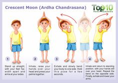 Crescent Moon Pose Yoga