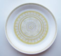 Franciscan Hacienda Dinner Plate by TenVintageSparrows on Etsy, $7.00