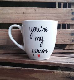 good morning hand painted ceramic mug pinterest. Black Bedroom Furniture Sets. Home Design Ideas