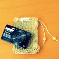This drawstring bag perfect for protecting your precious items (Camera, Sunglasses, Cellphone, etc). Hand knitted from bamboo and cotton yarn with draw string. Hand Knitting, Bamboo, Draw, Stitch, Sunglasses, Fabric, Cotton, Handmade, Bags
