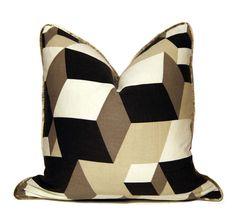Dimensional Block Pillow