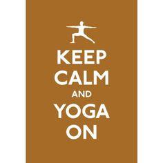 … yoga on