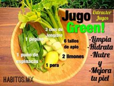 Jugos Green! ... de habitos.mx