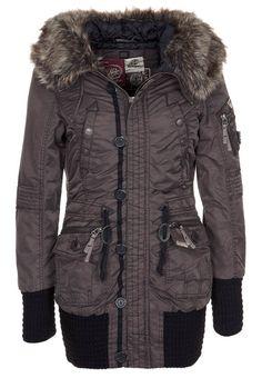 bb15158b25aa CILLE - Winterjassen voor dames - Bruin Outdoor Wear, T Shirt And Jeans,  Sweater