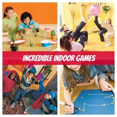 Being stuck inside doesn't have to be boring - check out these incredible indoor games!