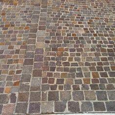 Stunning Italian porphyry cobblestones #Zuccaristone #driveways…