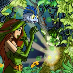 illusen earth faerie magic boween petpetpet moach sophie swamp witch green ixi