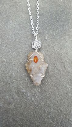 Wire Wrapped Native American Indian Arrowhead Wire by WornElements