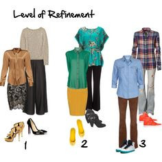 Level of refinement, created by imogenl on Polyvore