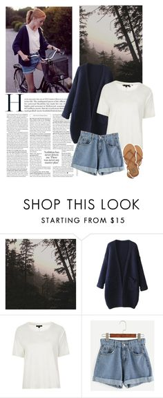 """""""Fall: Into the Woods"""" by enjolras1832 ❤ liked on Polyvore featuring Topshop and Billabong"""
