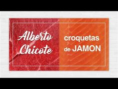 Croquetas Caseras Jamón (masa) de Alberto Chicote - YouTube Latin Food, Spanish Food, Tostadas, Fish And Seafood, Tapas, 1, Youtube, Recipes, Moma