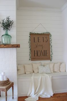 DIY Home Decor straight forward design to piece together for delightful rooms. Why not Visit the decor tip 4150917373 right now. Cute Home Decor, Easy Home Decor, Cheap Home Decor, Farmhouse Wall Decor, Country Decor, Country Chic, Lets Stay Home, Home Decor Quotes, Do It Yourself Home