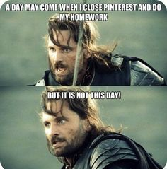 a day may come when i close pinterest and do my job, but it is not this day xD #funny #silly #pinterest #addict