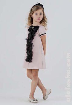 ALALOSHA: VOGUE ENFANTS: LESY Children's Holiday Dressing