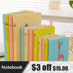 Find More Notebooks Information about 2014 new Cute cartoon kawaii giraffe hard cover paper notebook creative gift office school supplies stationery free shipping 320,High Quality supplies jeans,China supplies ceramic Suppliers, Cheap book organizer from Stationery Retail on Aliexpress.com