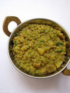 Recepty z Indie: Mungo - banánové karí