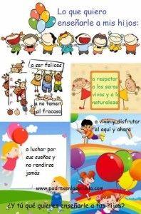 Reflexiones de una mamá sobre la educación - Padres en la Escuela ¿Y tú qué quieres para tus hijos?