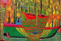 Video about Hundertwasser paintings - hundertwasser.nl