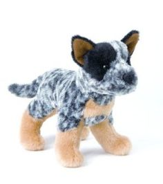 Lemon Puppy needs this! Cute little breed specific stuffed dogs on amazon.com.